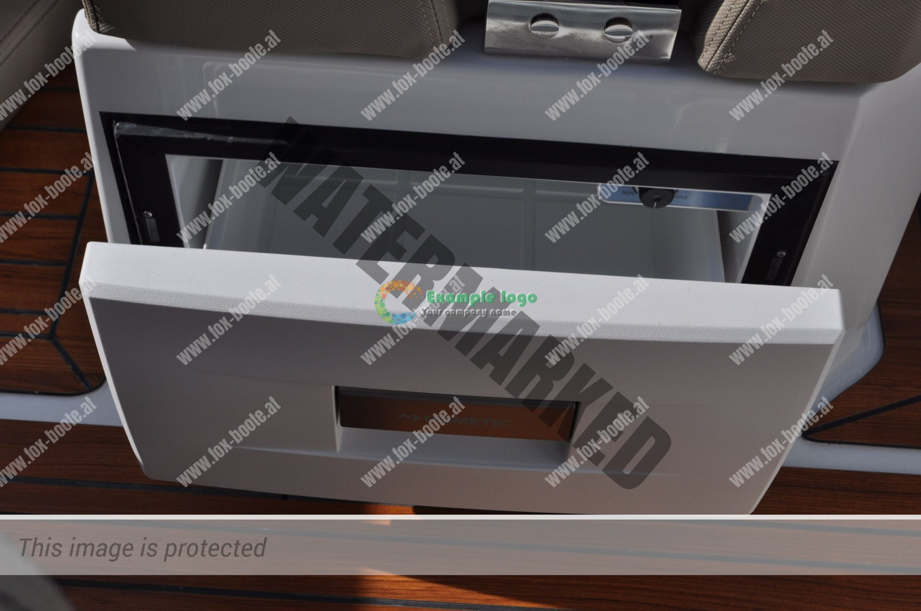 Kühlschrank, Coaster 600 DC